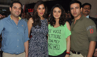 Preity ZInta Promotes Ishq In Paris