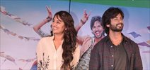 Shahid & Sonakshi at the promotion of 'R... Rajkumar'