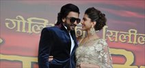 Deepika & Ranveer at RamLeela Launch