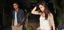 Ranbir and Deepika Return From Delhi