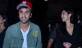 Ranbir And Katrina Make Their First Public Appearance At The Screening Of The Wolf Of Wall Street