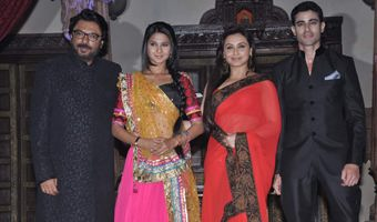 leela bhansali saraswati chandra serial launch click here for pictures