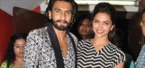 Ranveer And Deepika Visit PVR To Promote Ram Leela