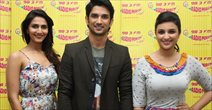 Shuddh Desi Romance Promotions At Radio Mirchi