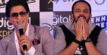 Shahrukh And Rohit Shetty At Chennai Express Game Launch