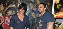 Shahrukh and Rohit SHetty promote Chennai Express at Cinemax