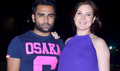 Sachin Joshi Snapped With Pregnant Wife Raina