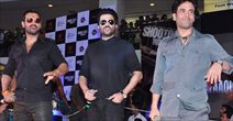 John, Anil And Tushar At Shootout At Wadala Fight Club Event In Malad