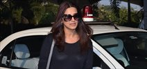 Sonali Bendre returns from Jaipur Court Case Hearing