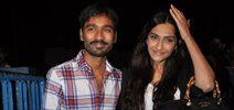 Sonam and Dhanush meet Raanjhanaa fans