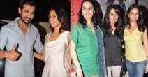 John Hosts Special Screening For Shootout At Wadala For Family In PVR