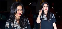 Sridevi And Other celebs Snapped At Cafe Nido