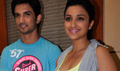 Sushant And Parineeti Chopra Promote Shuddh Desi Romance