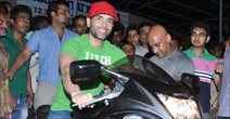 Tushar Kapoor Visits Gaeity Galaxy Vinema For SAW Promotions In Bandra, Mumbai
