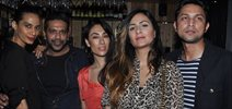 Neil Nitin And Models grace Vicinia Cafe Launch