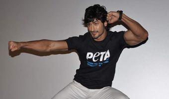 Vidyut Jamwal unveils new ad for PETA