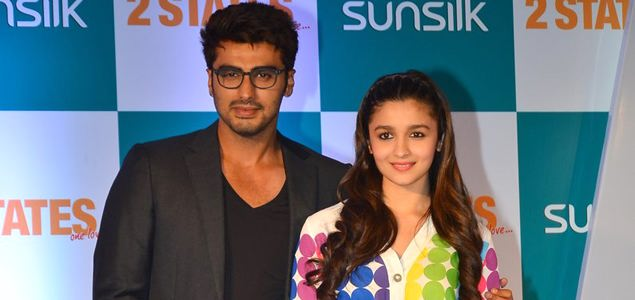 Arjun & Alia at '2 States' Media Meet