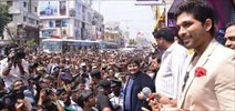 Allu Arjun open Lot Mobiles Show Room in Vijayawada