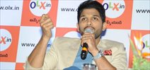 Allu Arjun as OLX Brand Ambassador Press Meet