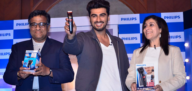 Arjun Kapoor As Brand Ambassador Of Philips India For Its Male Grooming Range