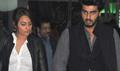 Sonakshi And Arjun At Airport