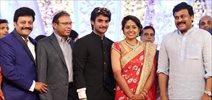 Aadi Marriage Reception Photos