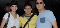 Aamir Anushka Return From Dubai