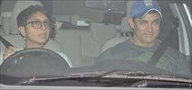 Aamir Khan & others at Karan Johar's house
