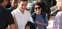 Aamir & Kiran Snapped At Domestic Airport