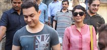 Aamir Khan Vote For India Elections 2014