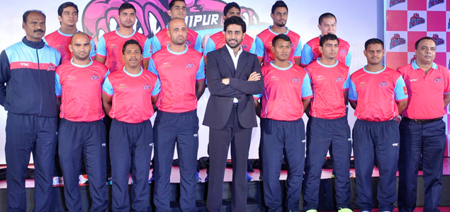 Abhishek Announces His Kabbadi...