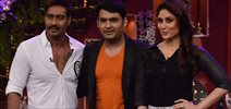 Ajay And Kareena Promote Singham Returns On Kapil Sets