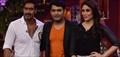Ajay And Kareena Promote Singham Returns On Kapil Sets