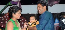 Actor Ajay son's Birthday Photos