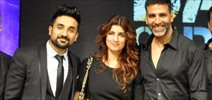 Akshay And Twinkle At Vir Das Battle Of Sexes Show