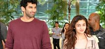 Alia And Aditya Snapped At Airport