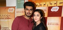 Alia & Arjun Go Mad Over Donuts to promote '2 States'