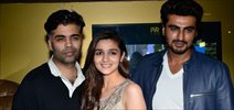 Alia, Arjun & Karan meet '2 States' viewers