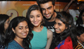 Alia & Arjun Meet 2 States Viewers At Cinemax