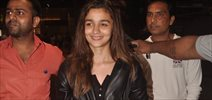 Alia Bhatt Returns From Shaandar London Schedule
