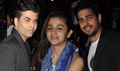 Alia, Varun And Karan Snapped Post Dinner At Lido