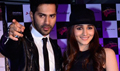 Alia Bhatt And Varun Dhawan At HSKD Promotions