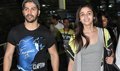 Alia And Varun Return From HSKD Delhi Promotions