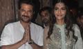 Anil & Sonam Kapoor Snapped Celebrating Diwali