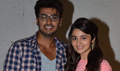 Arjun & Alia Snapped Promoting 2 States