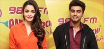 Arjun and Alia Promote 2 States