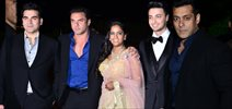 Bollywood Biggies At Arpita's Wedding Reception