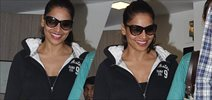 Bipasha Basu Snapped At Sunny Super Sound Studio