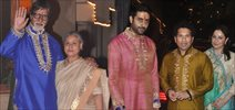Bachchans Celebrate Diwali In Style