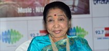 Asha Bhosle at 'Bappa Moraya' music album launch